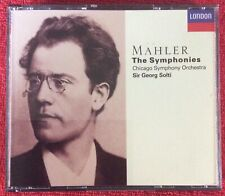 1984 MAHLER THE SYMPHONIES CHICAGO SYMPHONY ORCHESTRA SIR GEORG SOLTI 4 CD LONDO