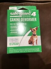 """Excel DEOJ71611 1gram Safe Guard Canine DeWormer for Dogs - 3 Pack""""Free-Shipping"""