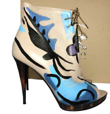 $1695 Burberry PRORSUM Platform Lace Up Jenkin Boots Shoes Booties Pump 37