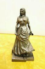 Vintage Franklin Mint Saturday Evening Post Pewter Figurine A Penny A Quart