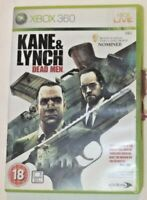 KANE & LYNCH-DEAD MEN, XBOX 360 Disc