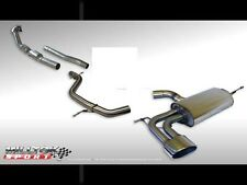 Milltek Turbo Back Exhaust Leon Cupra 2.0T Non Res & Downpipe RACE Cat Oval Tail