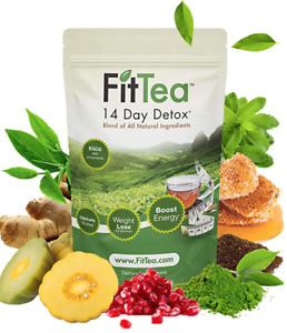 Fit Tea 14 Day Detox Herbal Weight Loss Tea- Natural Weight Loss Body Cleanse...