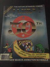 Comics Feature DC 50th Anniversary No 32 Nov-Dec 84