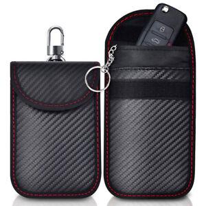 Car Key Signal Blocker Case Cage Pouch Keyless RFID Blocking Bag Pocket Mini