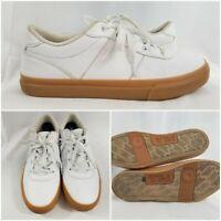 Mens Fila Original Fitness Classic Retro Casual Athletic Shoes 9.5 White Leather