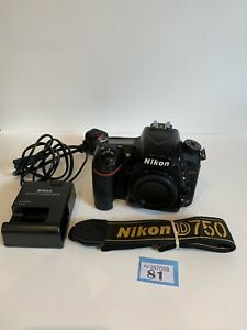 NIKON D750 DIGITAL SLR CAMERA 24MP