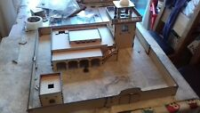 28mm Large Mosque Tower Compound Laser Cut 3mm MDF Scenery building Adobe 550mm