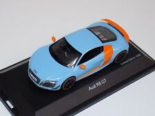 1/43 Schuco Audi R8 GT Gulf Racing Colors Limited 1000 pcs 450722600
