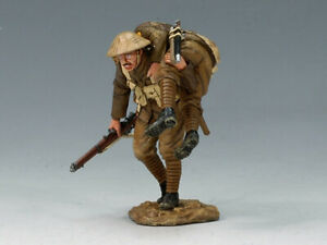 King and Country FW046 - 1:30 WWI British Army 'Wounded' - mint in box