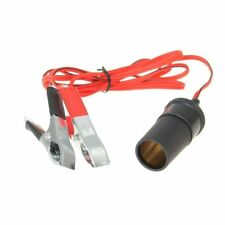 10x(12V car car battery clip clip outlet cigarette lighter adapter socket V0K6