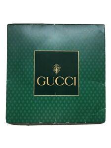 "New in Original Package Vintage Gucci Silk Scarf V Accornero 34"" X 34"" Floral"