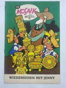 Hannes Hegen Mosaik 211 Export Ausgabe auf Normalpapier, Sammlerheft
