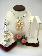 "Brighton ""SEA DREAMER"" Necklace-Earring-Bracelet Set (MSR$234) NWT/Pouch"