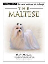 BOOK & DVD: The MALTESE Pet Dog Animal by Terra Nova - Hard Back