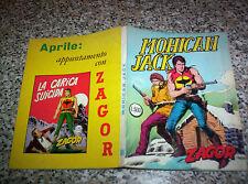 ZAGOR ZENITH N.108 ORIGINALE DEL 1970 OTTIMO TIPO TEX MARK ARALDO DOG RANGER