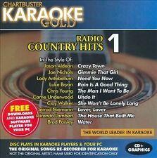 NEW Karaoke Gold: Radio Country Hits 1 (Audio CD)