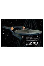 Star Trek Starship Enterprise Iconic Film Science Fiction Paramount TV Series