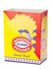 50 Jumbo Cinema Popcorn Cups!! Liven up your popcorn experience