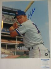 RON SANTO Signed Chicago CUBS 16 x 20 PHOTO with Beckett COA