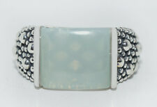 MICHAEL DAWKINS MOOMSTONE .925 Silver Starry Night Ring ** New In Original Box