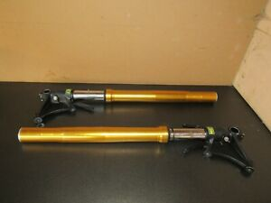 YAMAHA R1 4C8 FRONT FORKS WITH OHLINS 25MM CARTRIDGES YZF 1000 07 08 2007 2008