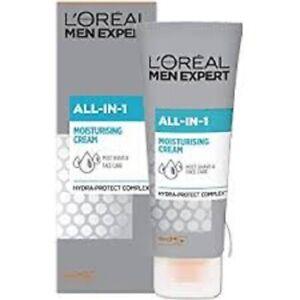 2 X LOREAL MEN EXPERT ALL IN 1 MOISTURISING CREAM Post Shave & Face Care 75ml ea