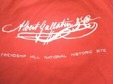 Vintage Albert Gallatin Friendship Hill National Historic Site T Shirt XS