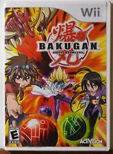 Nintendo WII Bakugan Battle Brawlers Fantasy Kids Teen Family Complete NICE DISC