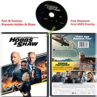 Fast & Furious Presents Hobbs & Shaw DVD Box Set Dwayne Johnson