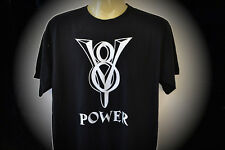 T-Shirt V8 Power Übergrösse Plus Size S bis 5XL Chevy Dodge Muscle Cars Mustang