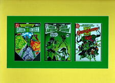GREEN LANTERN #76 136 201 COVER PRINTS PROFESSIONALLY MATTED Triple