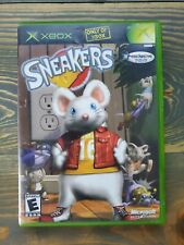 Sneakers (Microsoft Xbox, 2002) Complete W/Manual CIB Tested Free Shipping
