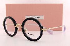Brand New Miu Miu Eyeglass Frames MU 06NV TKX 1O1 Black Women Size 45