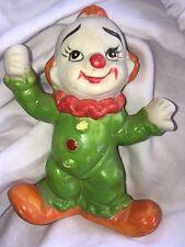 Vintage Clown Decor Figure