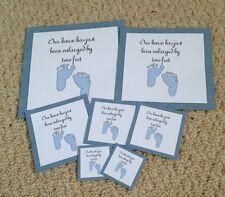 New Baby Boy Card Scrapbook Embellishments