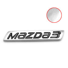 Logo Emblem Badge Decal Mazda3 Trim Chrome For Mazda Mazda3 2015 - 2018