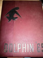 1965 CHADWICK SCHOOL DOLPHIN VINTAGE YEARBOOK PALOS VERDES CALIFORNIA