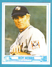 "Roy Hobbs Baseball Card ""the Natural"" Robert Redford"