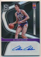 2019-20 Panini Spectra Signatures #20 Alvan Adams Autograph /99