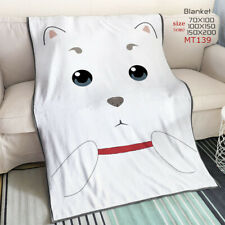 Gintama Customized Blanket Throw Sofa Blankets Unisex anime NEW