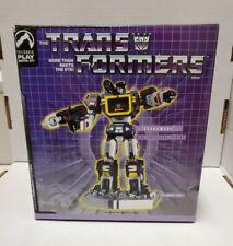 Transformers SOUNDWAVE Mini Statue Palisades Toys Lim Ed #1160/1500