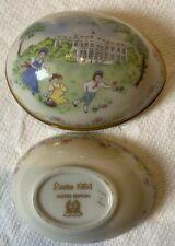 Vintage Lenox Easter Egg 1984 Limited Edition Egg Hunt on White House Lawn