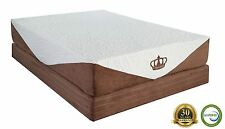 "Dynasty Mattres 10"" TWIN Cool Breeze GEL Memory Foam Mattress FREE 1 Gel Pillow"