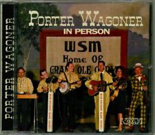 Porter Wagoner - In Person  RARE OOP Original Live 1964 RCA 1998 KOCH CD (Mint!)