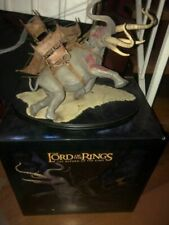 Lord of the Rings  Return of  King Mumak of Harad Sideshow Weta Statue 11/3000