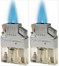 (2 Pack)  Z-Plus Extreme Butane Twin Flame Torch Lighter Insert - Best Buy