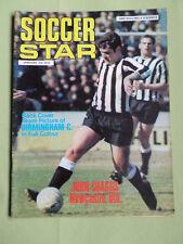 SOCCER STAR - UK FOOTBALL MAGAZINE- 9 JAN 1970- JOHN CRAGGS - BIRMINGHAM CITY