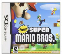 New Super Mario Bros. Nintendo DS ~Complete With Manual And Tested~