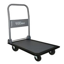 Hand Trucks And Platform Carts 300 Lbs Folding Platform Cart Gray